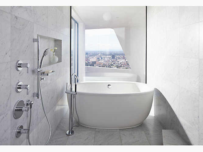 K-T97344-4 | Stillness Bath Filler Trim with Handshower | KOHLER