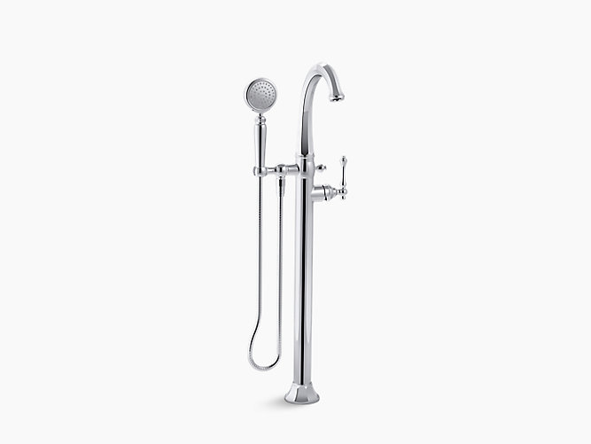 kohler roman tub faucet with hand shower. KOHLER  K T97332 4 Kelston Bath Filler Trim with Handshower