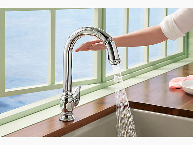 K 99332 Beckon Electronic Pull Down Kitchen Faucet Kohler