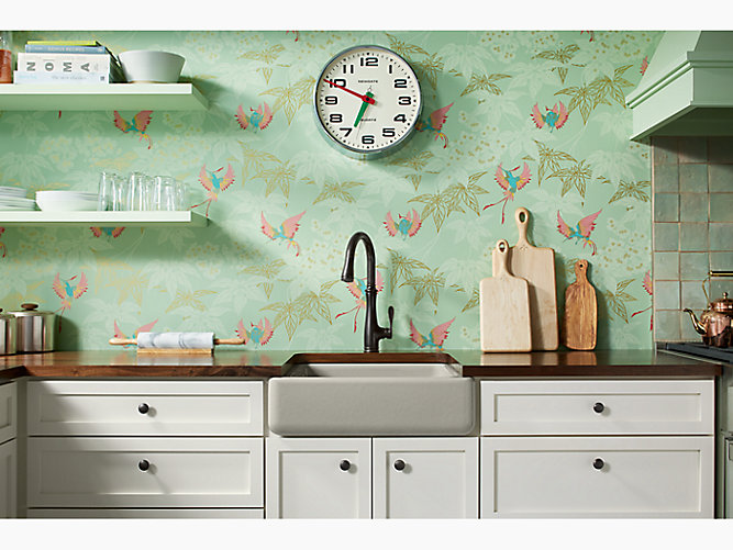 Constructed from durable KOHLER® enameled cast iron, Whitehaven sinks will  give your kitchen style for years to come. Plus, they're guaranteed not to  chip, ...