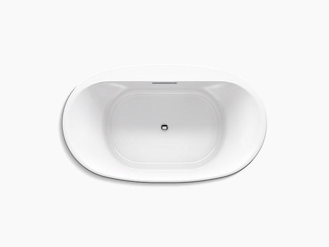 K-5717   Underscore 6-Ft Oval Drop-In Bath   KOHLER