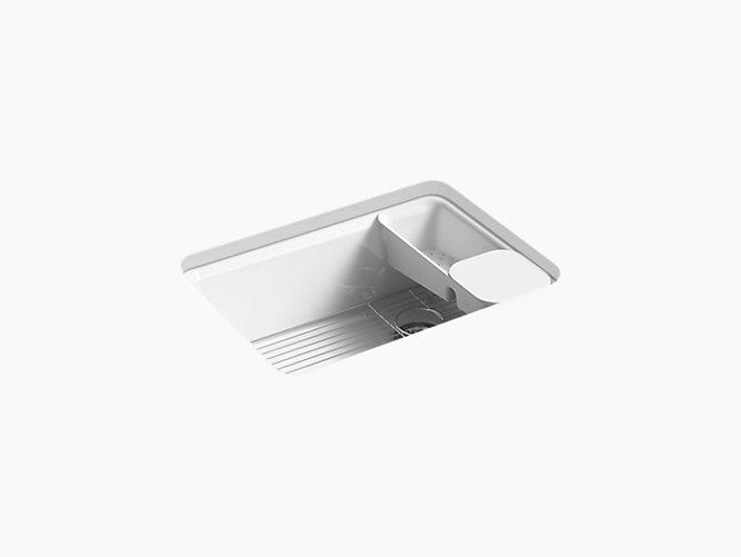 Riverby Undermount Single Bowl Workstation Kitchen Sink 5 Holes K 8668 5ua2 Kohler Kohler