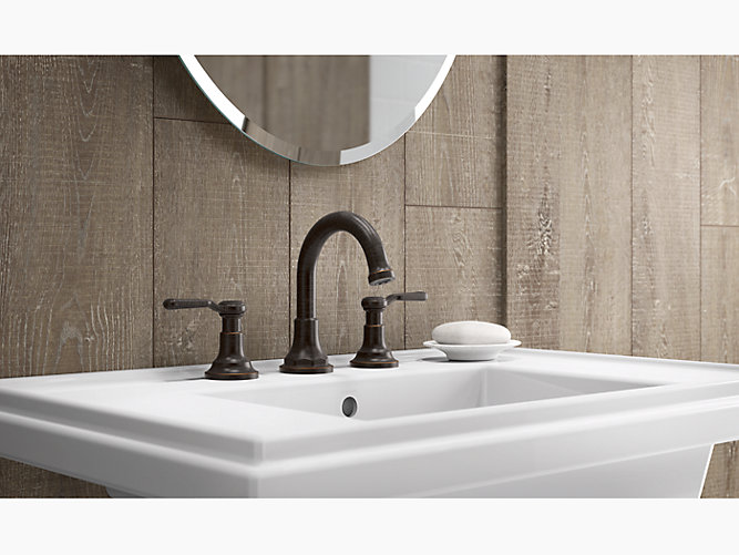 K-R76257-4D | Worth Widespread Bathroom Faucet | KOHLER