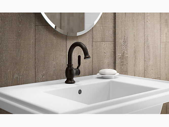 KRD Worth SingleHandle Bathroom Faucet KOHLER - Kohler worth bathroom faucet
