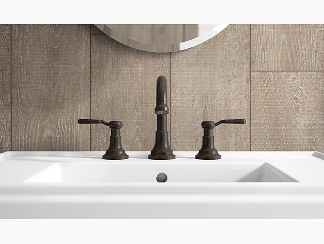 KRD Worth Widespread Bathroom Faucet KOHLER - Kohler worth bathroom faucet