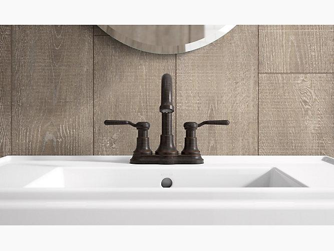 K-R76256-4D | Worth Two-Handle Centerset Bathroom Faucet | KOHLER