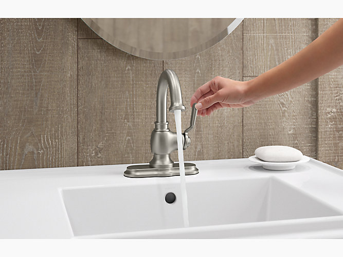 K-R76255-4D | Worth Single-Handle Bathroom Faucet | KOHLER