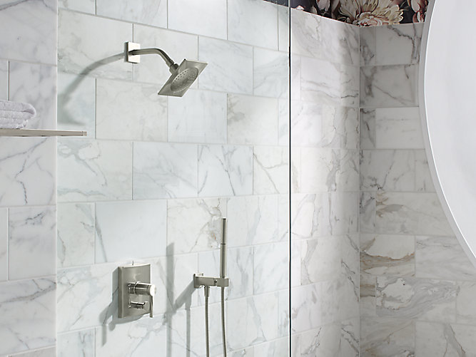 Loure Wall-Mount Handshower Holder with Supply Elbow | K-14791 ...
