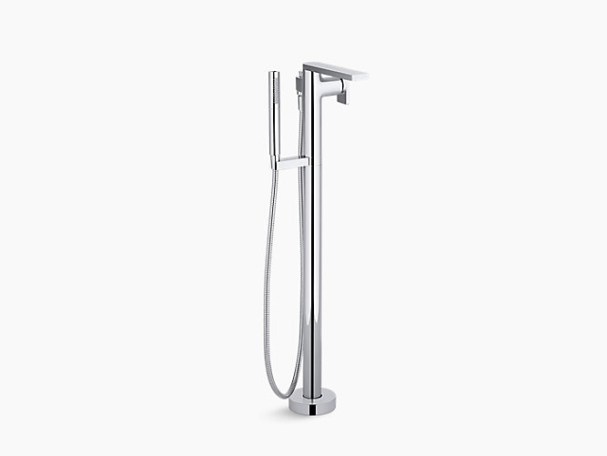 kohler roman tub faucet with hand shower. KOHLER  K T73087 4 Composed Bath Filler with Handshower