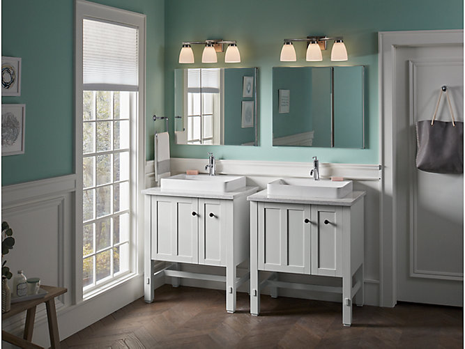 vox rectangle vessel bathroom sink with