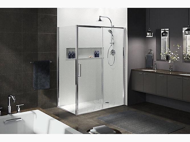 K 706093 L Torsion Sliding Shower Door With Return