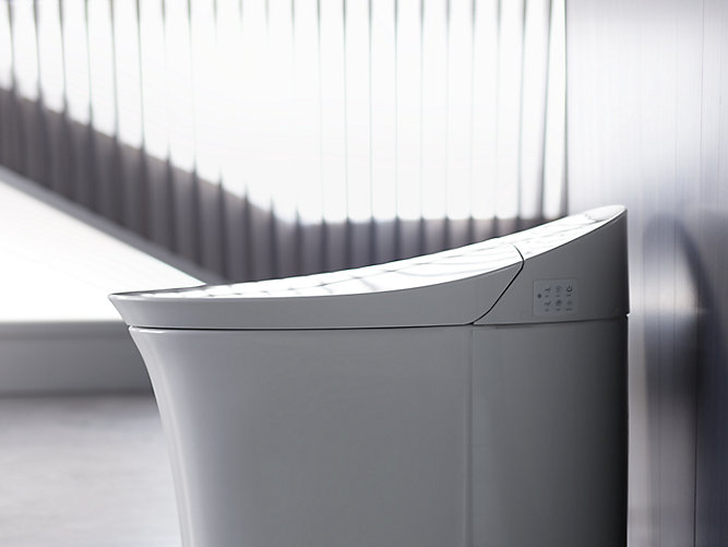 K 5401 Veil Intelligent Elongated Dual Flush Toilet Kohler