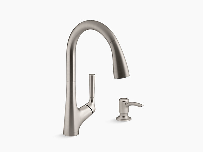K R77748 Sd Malleco Touchless Pull Down Kitchen Faucet Kohler