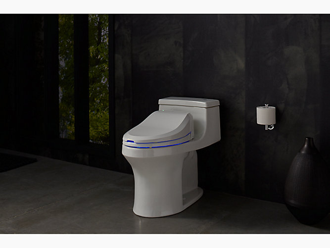 K 4737 C3 125 Elongated Bidet Toilet Seat Kohler