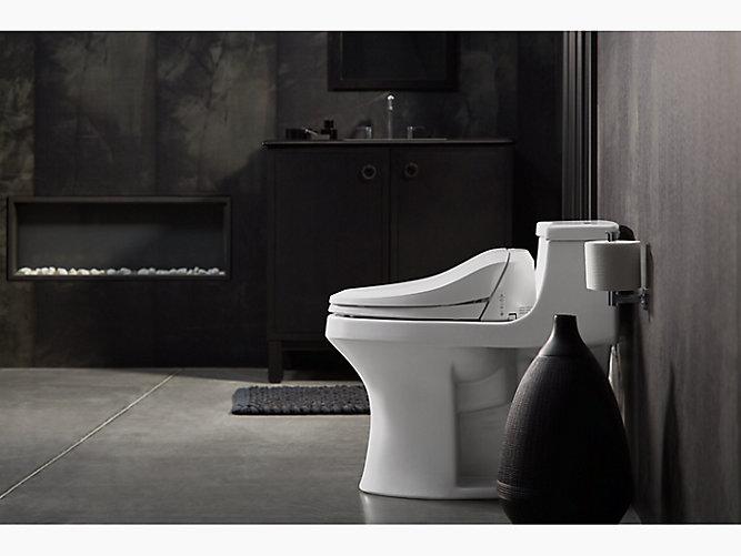 K 4737 C3 125 Elongated Bidet Toilet Seat Kohler