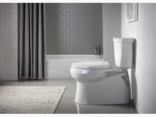 K 5310 Cimarron Skirted Trapway Elongated Toilet Kohler