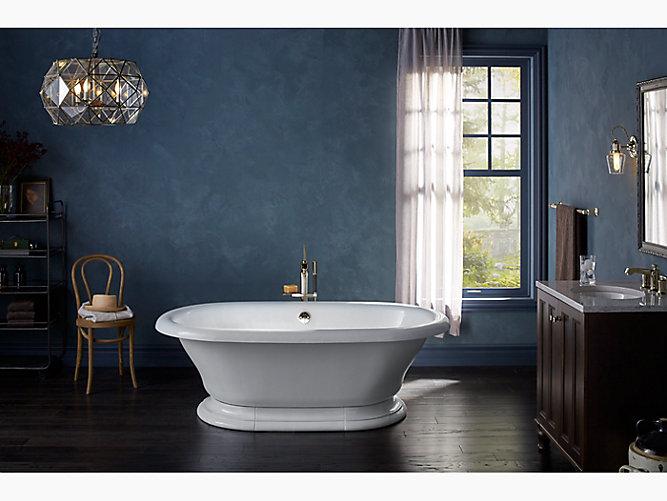 kohler cast iron freestanding tub. KOHLER  Vintage Bath K 700
