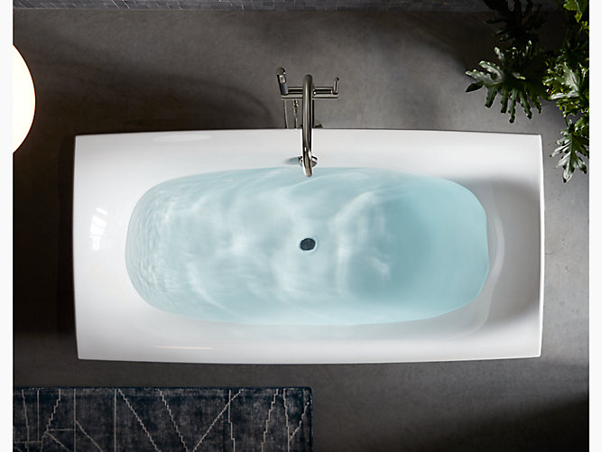 Escale 6-Foot Freestanding Bath | K-14037 | KOHLER