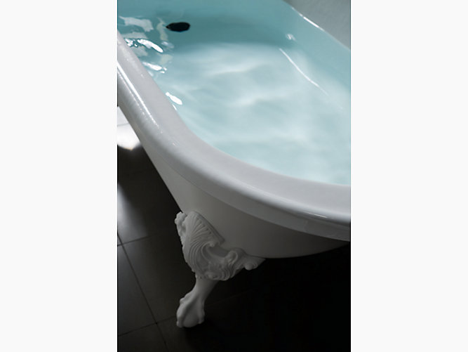 Iron Works Historic 5.5-Foot Bath | K-710-W | KOHLER