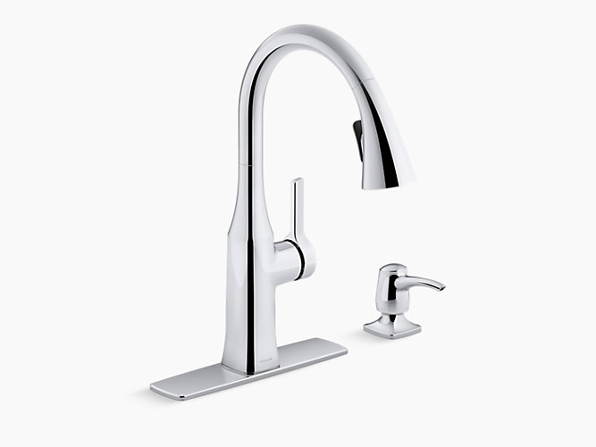 K R20177 Sd Rubicon Pull Down Kitchen Faucet Kohler