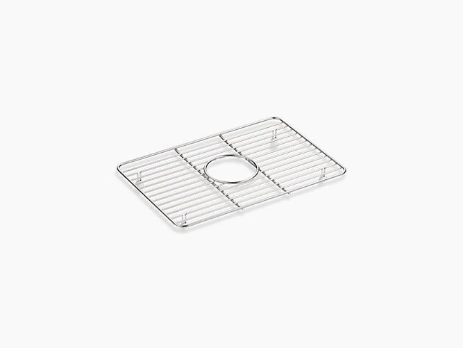 "K-5376   Kennon® small stainless steel sink rack, 10-5/8"" x 15-9 ..."