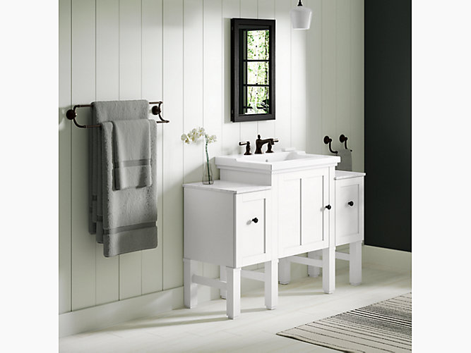 K r20195 chambly 24 in vanity with ceramic top kohler - Cabinet delveaux chambly ...