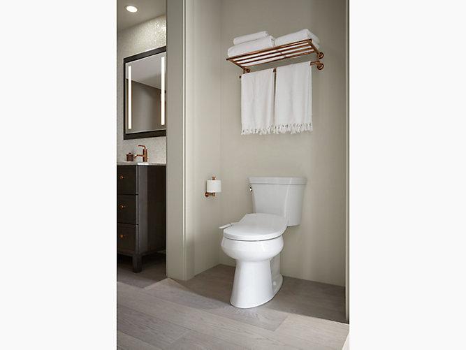 Round-front Bidet Toilet Seat |Bathroom| KOHLER | KOHLER