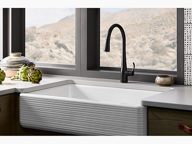 K 596 Simplice Single Handle Kitchen Sink Faucet Kohler