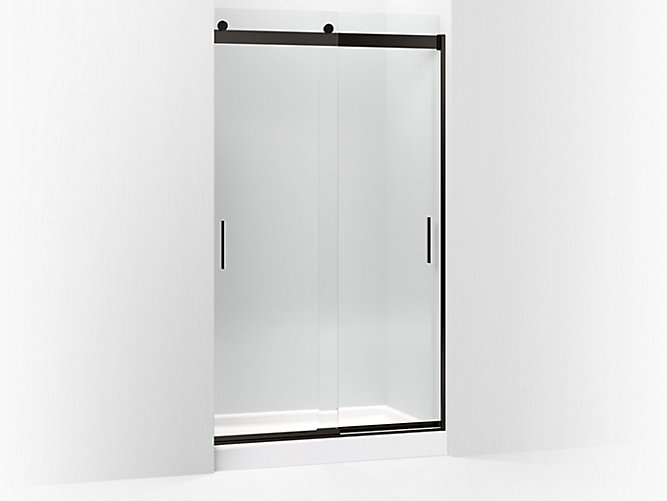 K 706375 L Levity Frameless Sliding Shower Door Kohler