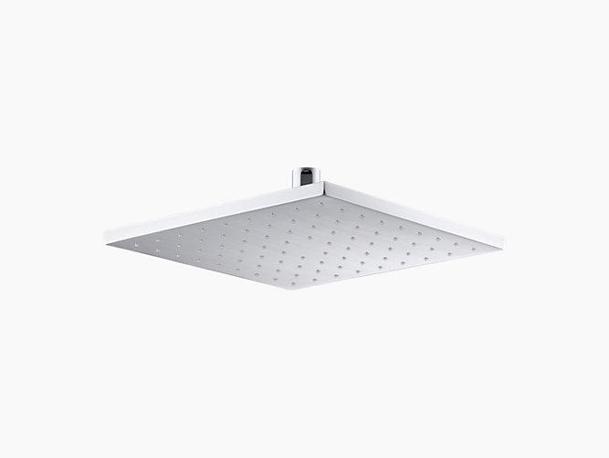 K-13696 | 10-Inch Contemporary Square Rain Showerhead, 2.5 GPM ...