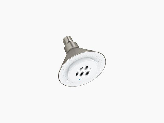 Kohler Showerhead w Built-in Speaker - Brushed Nickel