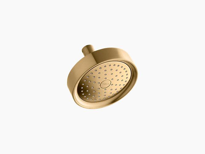 Kohler Purist Fixed 2.5gpm Showerhead - Brushed Gold