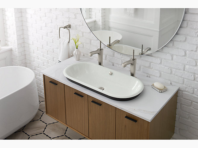 K 20213 Iron Plains Capsule Bathroom Sink Kohler