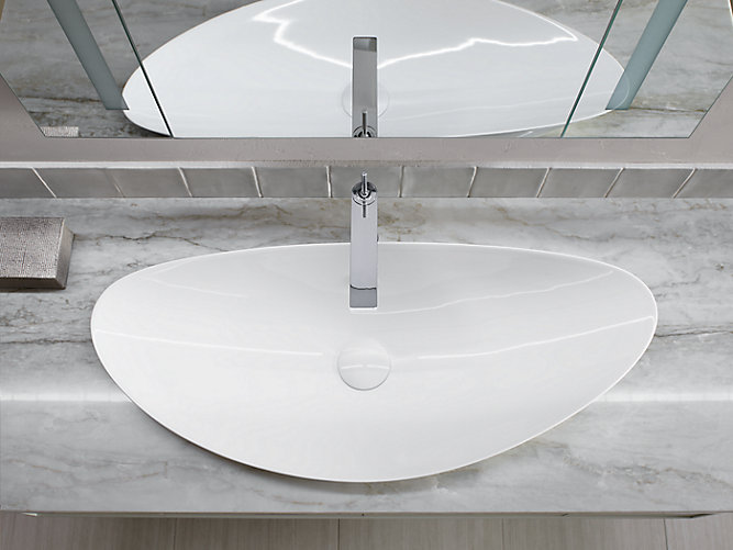 K 20705 Veil Trough Vessel Bathroom Sink Kohler