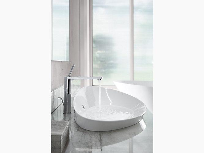 K 20705 Veil Trough Vessel Bathroom Sink Kohler