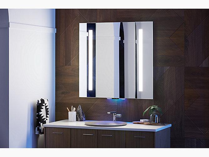 K 99572 Vlan Na Verdera Lighted, Kohler Led Bathroom Mirror