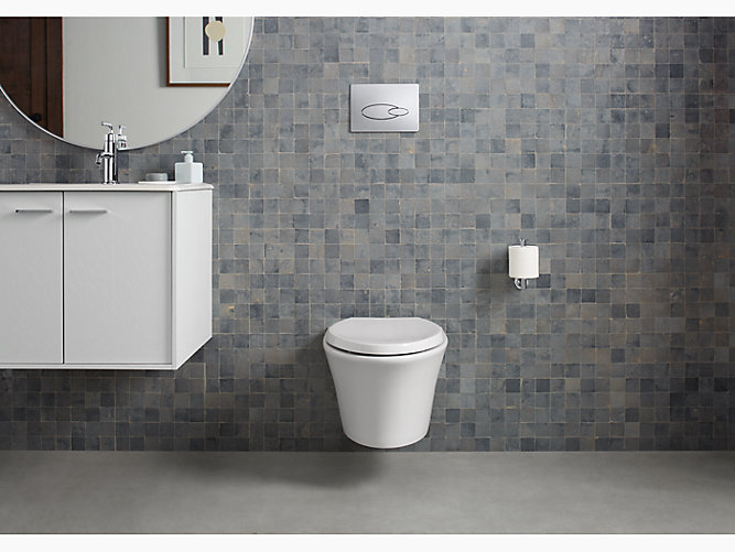 K 6299 Veil Wall Hung Toilet Bowl With Reveal Seat Kohler