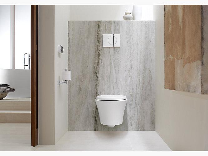 Veil Wall Hung Elongated Dual Flush Toilet