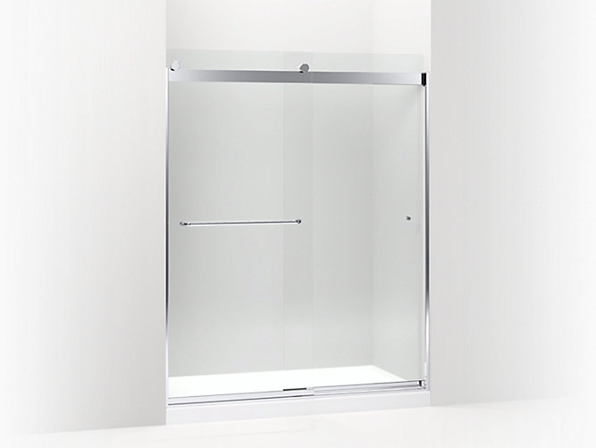 K 706167 L Levity Frameless Sliding Shower Door Kohler