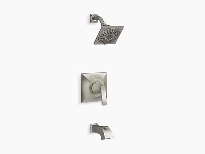 decorative bathroom hardware sets.htm k r24061 4m truss rite temp bath and shower trim set kohler  k r24061 4m truss rite temp bath and