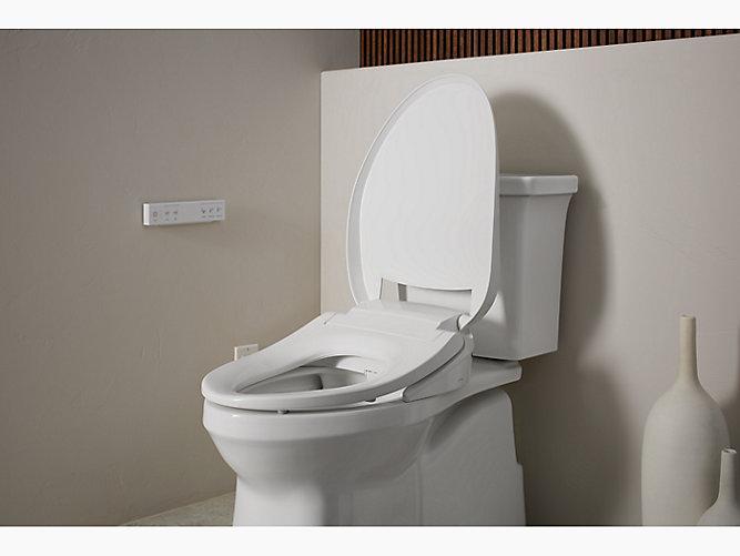Nightlight Heated Elongated Bidet Toilet Seat |Bathroom ...