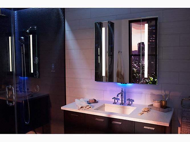 K 99573 Vlan Na Verdera Lighted, Kohler Led Bathroom Mirror