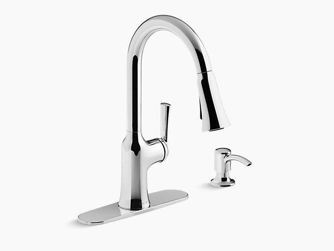 K R23089 Sd Brynn Pull Down Kitchen Faucet Kohler
