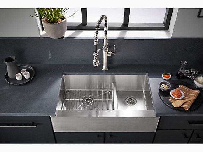 K 77515 Tournant Semi Professional Kitchen Sink Faucet Kohler Canada