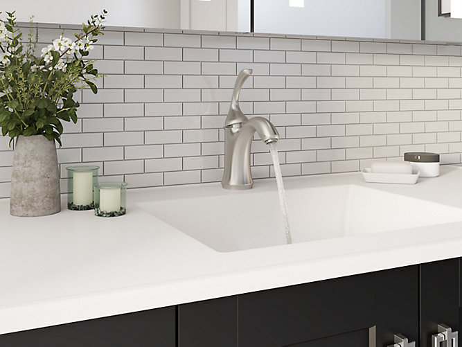 K-10215-4 | Forté Single-Control Bathroom Sink Faucet | KOHLER