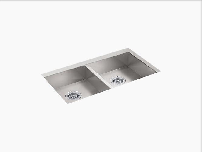 K 25940 Vault Undermount Double Equal Kitchen Sink Kohler Canada