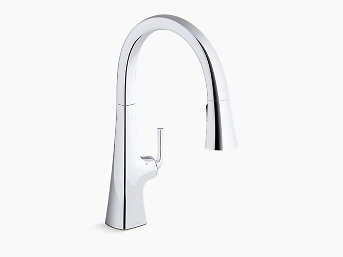 Graze Touchless Pull Down Kitchen Sink