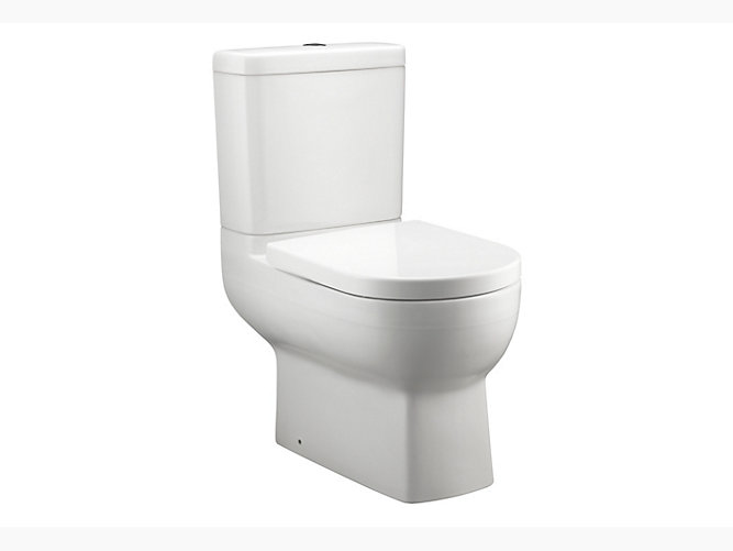 Odeon Up Close Coupled Dual Flush 3 6l Washdown Toilet