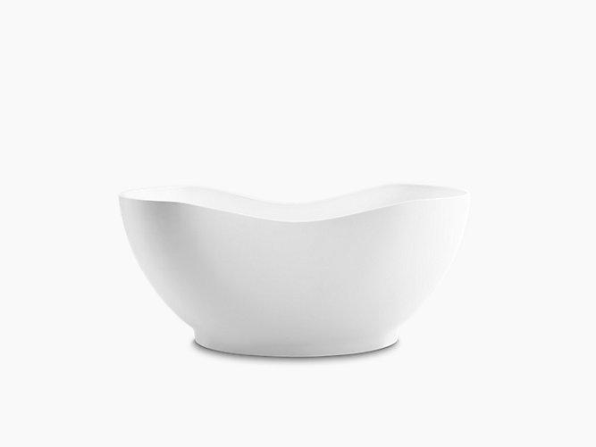 Abrazo™ 1.6m freestanding Lithocast Bath