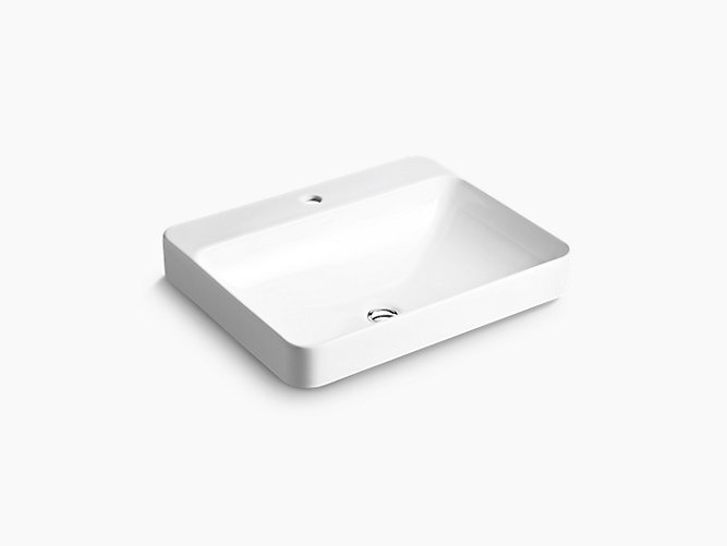 Forefront® Rectangular Vessel with Single Faucet Hole